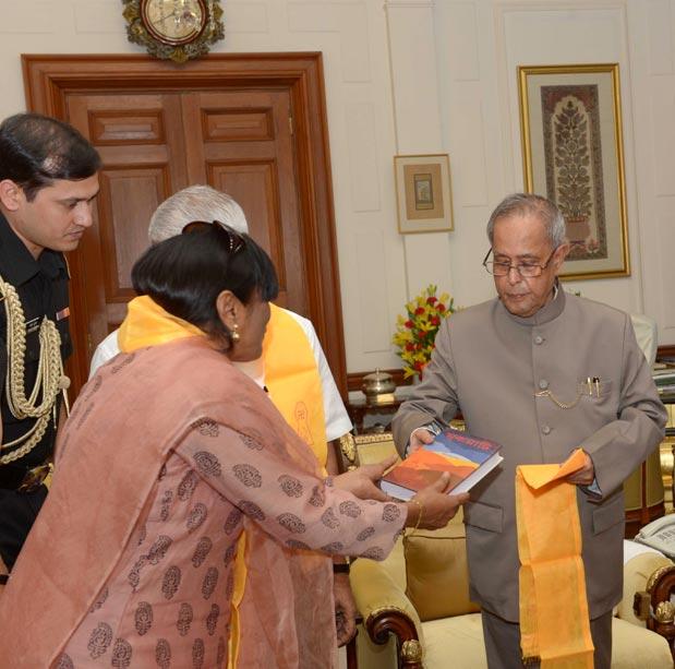 Shobhana Jain & Pranab Mukherjee